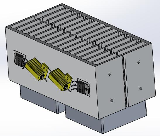 Sistemul de racire al capacimetrului acumulatori auto - Hobbytronica