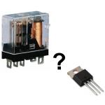Relee construite cu tranzistoare MOS-FET - Hobbytronica